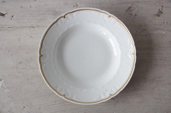 GDA窯 リモージュ金彩スープ皿C
