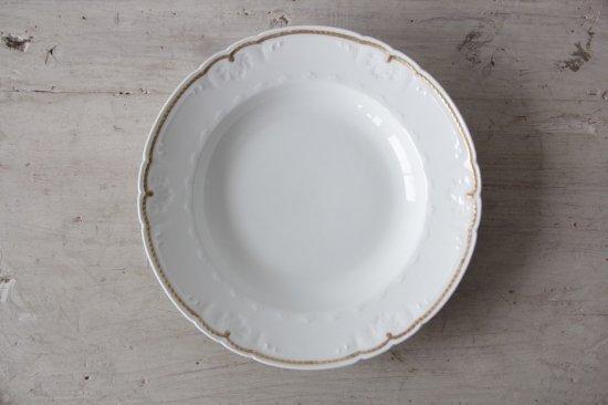 GDA窯 リモージュ金彩スープ皿D