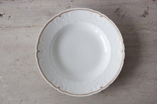GDA窯 リモージュ金彩スープ皿E