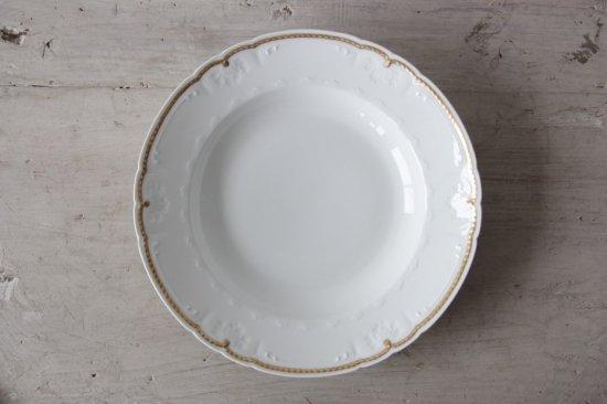 GDA窯 リモージュ金彩スープ皿F