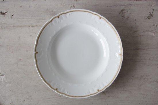 GDA窯 リモージュ金彩スープ皿G