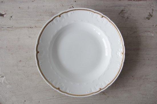 GDA窯 リモージュ金彩スープ皿I