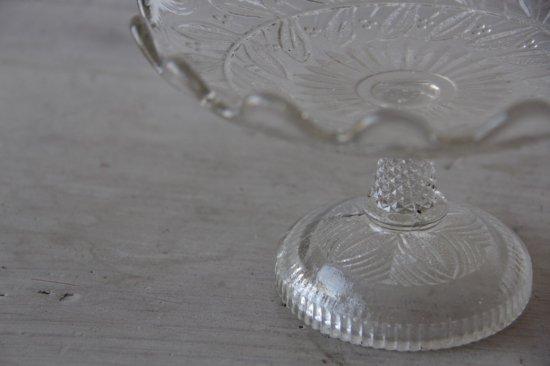 型ガラスのコンポティエ小