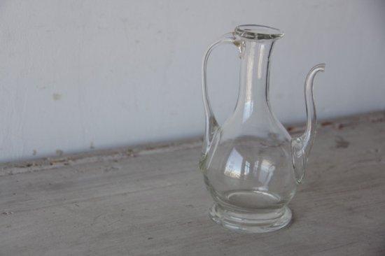 吹きガラスのオイルポットA