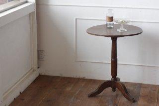 丸天板の三つ足ミニテーブル