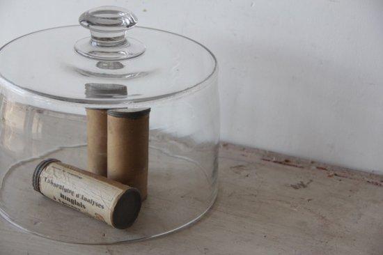 吹きガラスのチーズドームC