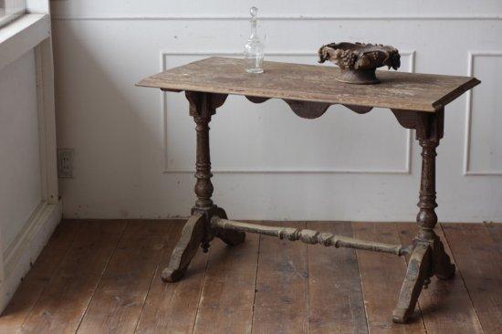 オーク材のビストロテーブル