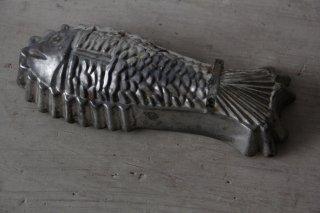 独製 魚型ブリキモールド