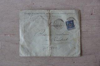 フランスの古文書C (封筒)