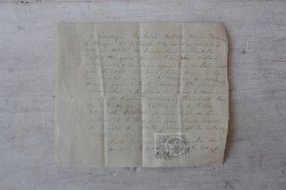 フランスの古文書I (方眼紙)