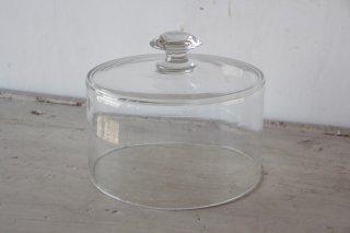 吹きガラスのチーズドームF