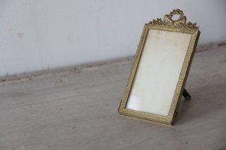 装飾真鍮フレームの小さな写真立て