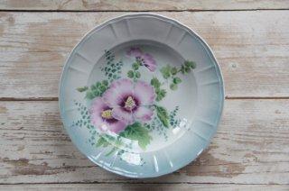 St.AMAND et HAMAGE les Hibiscus mutabilisスープ皿