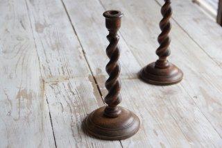 木製キャンドルスタンド/燭台D