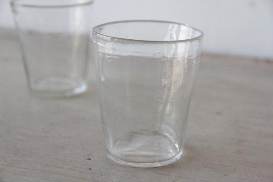 手吹きガラスのミニカップ/ロックグラスB