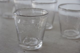 古ガラスの歪なカップ[在庫6]