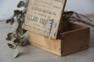Boite Galeries Lafayette   ギャラリーラファイエット/具付き木製ミニボックス
