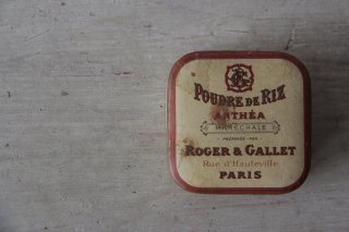 ROGET & GALLET  フェイスパウダーボックス/紙箱・化粧箱