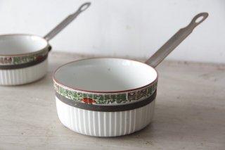 白磁の片手鍋M