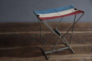 仏国旗柄 折り畳み携帯チェア