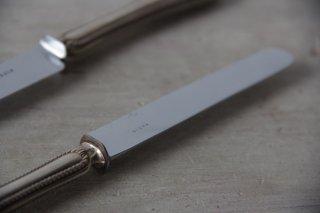レリーフ柄のシルバープレートナイフ[在庫2]
