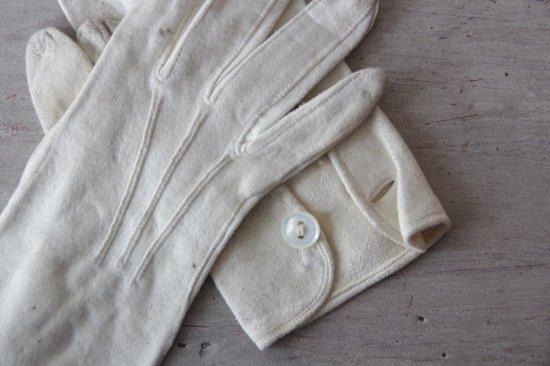 アンティーク 布製手袋/グローブA