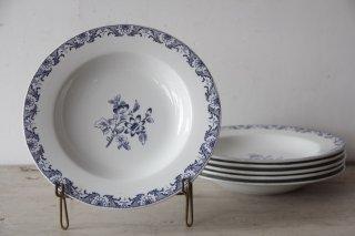 Lunéville K&G 青花柄のスーププレート[在庫6]