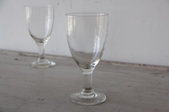 吹きガラスのビストログラスD