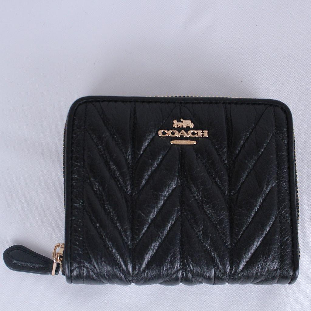 brand new c4f58 f2281 コーチ レディース COACH キルティング 小物 財布 二つ折り財布 レザー -  イタリアから買い付けしたワンランク上のおしゃれなオトナの女性のためのファッションサイト