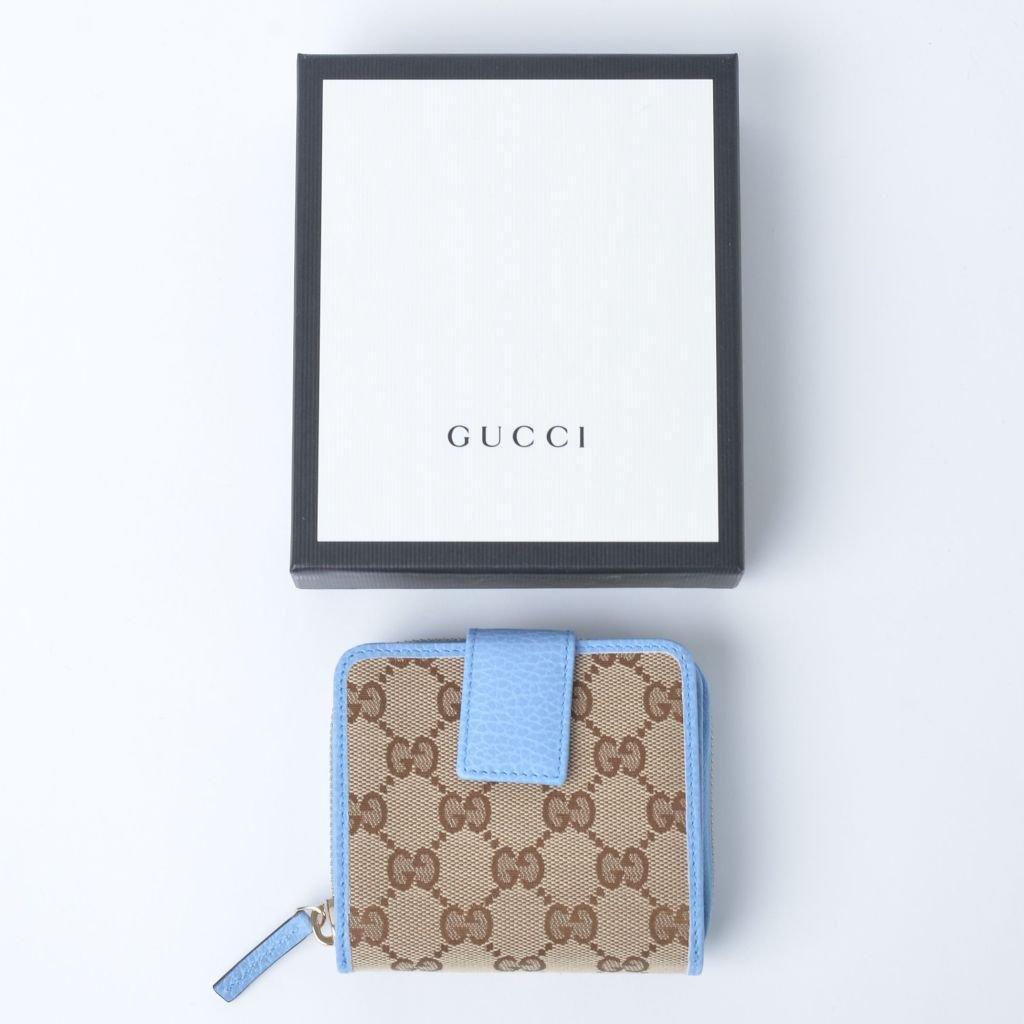 brand new 1d1d9 09b92 グッチ レディース GUCCI 財布 折りたたみ ジャガード - イタリアから買い付けしたワンランク上のおしゃれなオトナの女性のためのファッションサイト