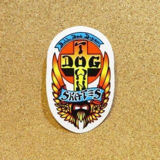 DOG TOWN  ステッカー BULLDOG 4.25インチ