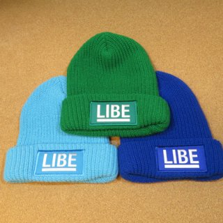 <img class='new_mark_img1' src='https://img.shop-pro.jp/img/new/icons16.gif' style='border:none;display:inline;margin:0px;padding:0px;width:auto;' />LIBE BIG LOGO BEANIE
