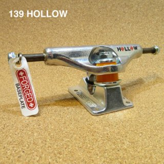 INDEPENDENT TRUCK FORGED HOLLOW 139  SILVER