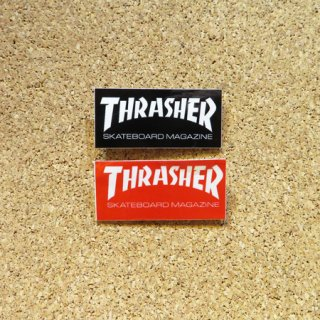 THRASHER  ステッカー  SKATE MAG LOGO 1.75インチ