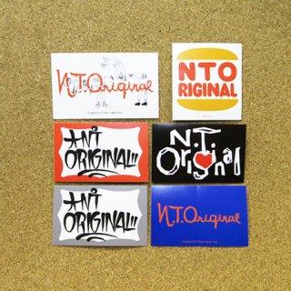 N.T.ORIGINAL  ステッカー PACK (6枚入り)
