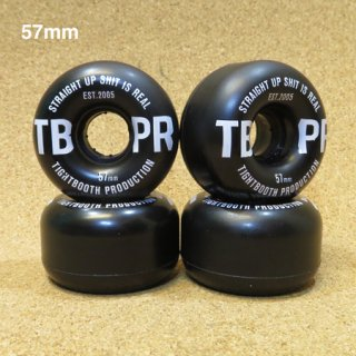 TIGHTBOOTH  SOFT WHEEL STRAIGHT UP 57mm