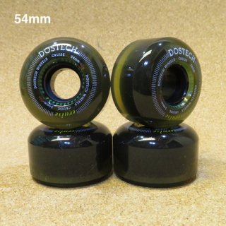 DOSTECH  SOFT WHEEL  54mm CLEAR BLACK