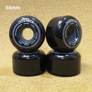 DOSTECH  SOFT WHEEL  54mm BLACK
