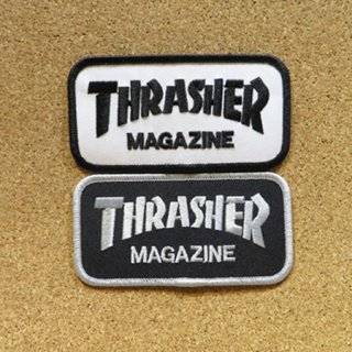 THRASHER PATCH ワッペン LOGO