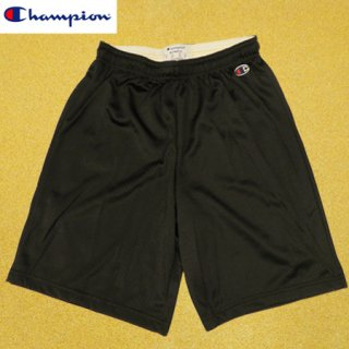 <img class='new_mark_img1' src='https://img.shop-pro.jp/img/new/icons1.gif' style='border:none;display:inline;margin:0px;padding:0px;width:auto;' />Champion Polyester Mesh Shorts Black