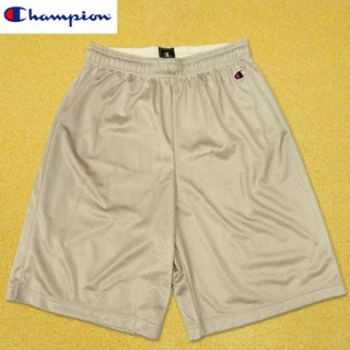<img class='new_mark_img1' src='https://img.shop-pro.jp/img/new/icons1.gif' style='border:none;display:inline;margin:0px;padding:0px;width:auto;' />Champion Polyester Mesh Shorts Athletic Grey