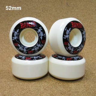 BONES ウィール STF V1 SHAPE STANDARD 52mm WHITE