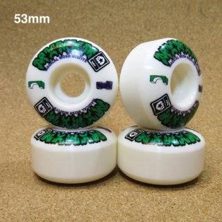 MxMxM  WHEEL  53mm 99A  WHITE
