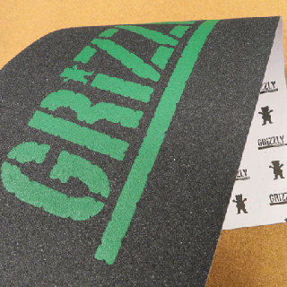 GRIZZLY デッキテープ STAMP GREEN