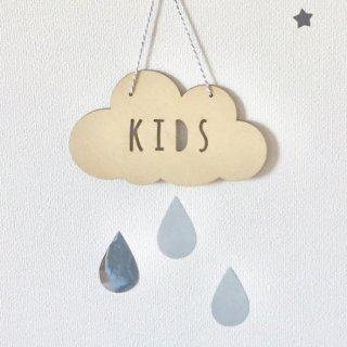 baby&kids雲のウォールデコ