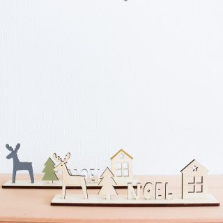 クリスマスの置きかざり(Noel)