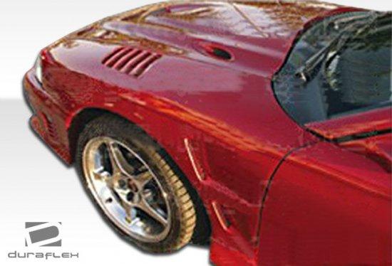 USパーツ 95-05シボレーキャバリアF-1 Duraflexボディキット - フェンダー! 101520 95-05 Chevrolet Cavalier F-1 Duraflex Body Kit- Fenders 101520