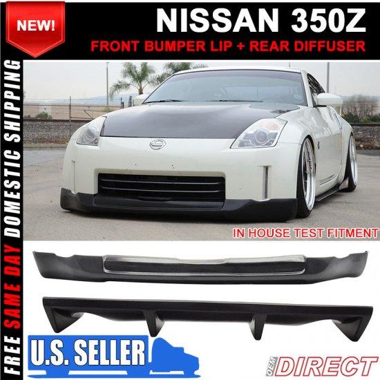 USパーツ フィット03-06インフィニティG35 4Drセダンリアバンパーリップディフューザー7フィングロスブラックABS Fits 03-06 Infiniti G35 4Dr Sedan Rear Bumper Lip Diffuser 7 Fin Gloss Black ABS