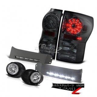 ヘッドライト 2007-13 Tundra PickUp LIMITED LEDバルブテールライトフォグSMD DRLバンパーランプトリム 2007-13 Tundra PickUp LIMITED