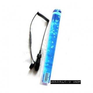 エアロパーツ ABC 25cmブルーユニバーサルディルドバブルシフトギアノブレバーキャップLEDライトJDM ABC 25cm Blue Universal Dildo Bubble Shift G